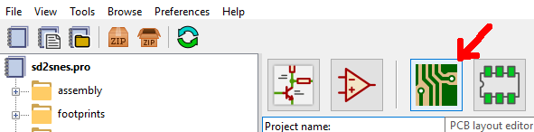 Opening the Layout Editor