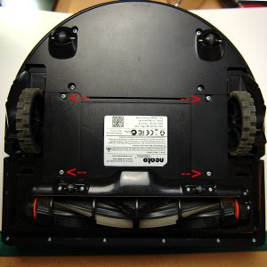 Neato XV Bottom View